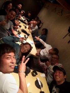 SEVEN CROSS TOKYO 親睦会