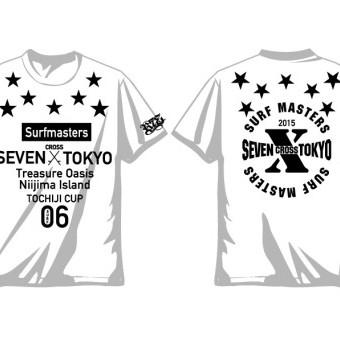 2015 東京都知事杯 SEVEN CROSS TOKYO Surf Masters heat Ⅵ 大会記念Tee