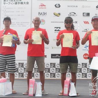 2016全日本サーフィン選手権大会 東京支部ファイナリスト